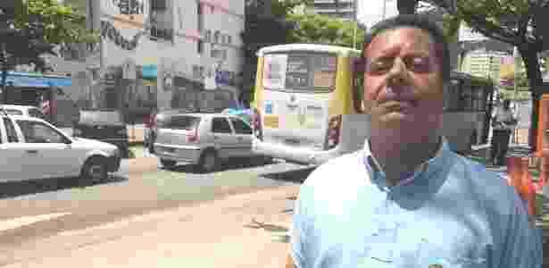 Vinícius de Souza Antão disse ter estranhado a ausência de tropas federais nas ruas - UOL - UOL