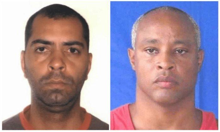 Ex-policial militar Alan Nogueira e o ex-bombeiro Luiz Claudio Ferreira Barbosa