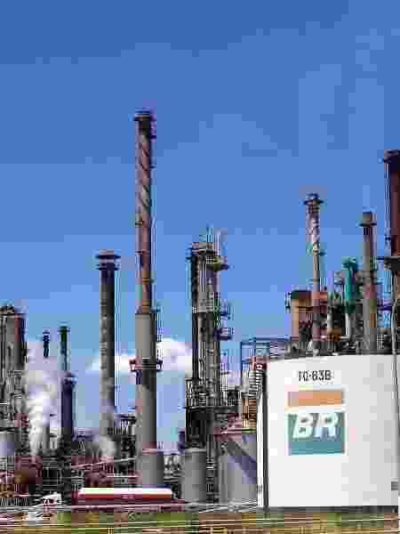 Tanques e dutos da Refinaria Gabriel Passos (Regap), em Minas Gerais (MG). Petrobras; petróleo, combustíveis, gasolina, diesel - Geraldo Falcão/Petrobras/Divulgação