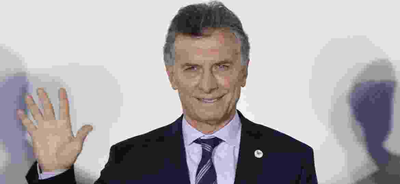 Mauricio Macri, presidente da Argentina - Nicolás Celaya/Xinhua