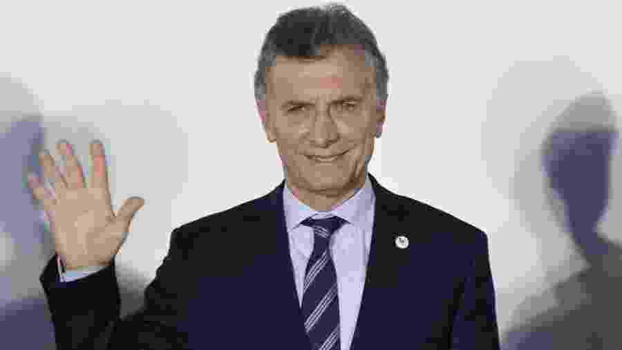 Mauricio Macri, presidente da Argentina, que concorre à reeleição - Nicolás Celaya/Xinhua
