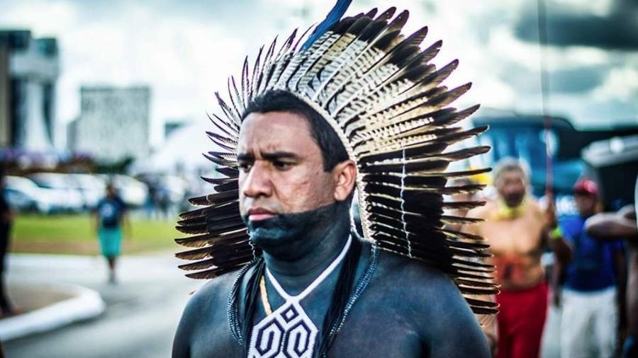 """Para Dinamam Tuxá, vice-coordenador da Articulação dos Povos Indígenas do Brasil, há uma tentativa de """"institucionalizar o genocídio dos ingígenas"""" - Arquivo pessoal"""