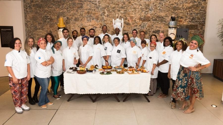 Empreendedores foram capacitados pelo Sebrae para vender seus pratos no Espaço Favela, no Rock in Rio  - André Cyriaco/Divulgação