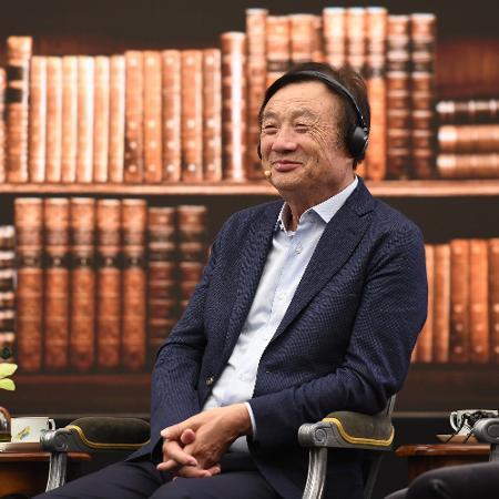 17.jun.2019 - O fundador e CEO da Huawei, Ren Zhengfei, na sede da companhia em Shenzhen (China) - Por Karen Freifeld e Chris Prentice