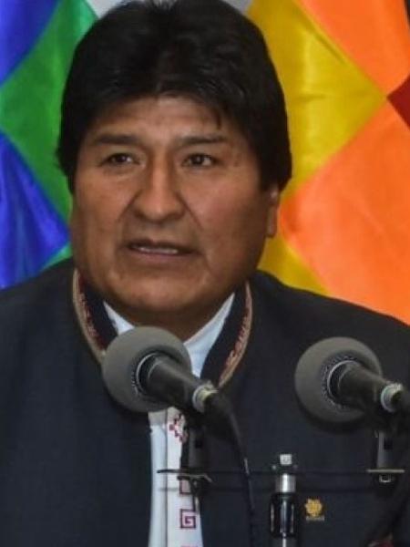 Evo Morales, presidente reeleito da Bolívia - GETTY IMAGES