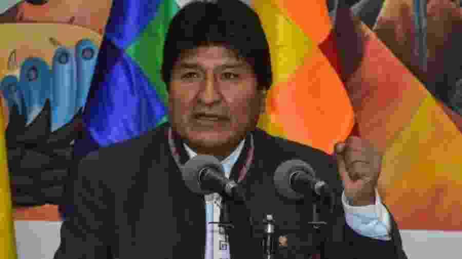 O ex-presidente da Bolívia, Evo Morales - GETTY IMAGES