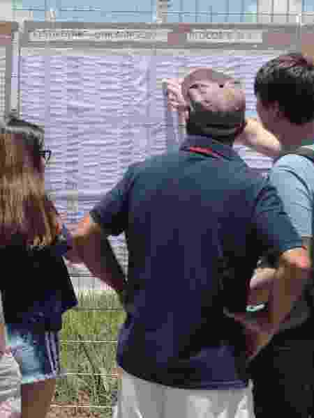 Candidatos chegam para o vestibular da Unicamp - Denny Cesare/Código 19/Folhapress