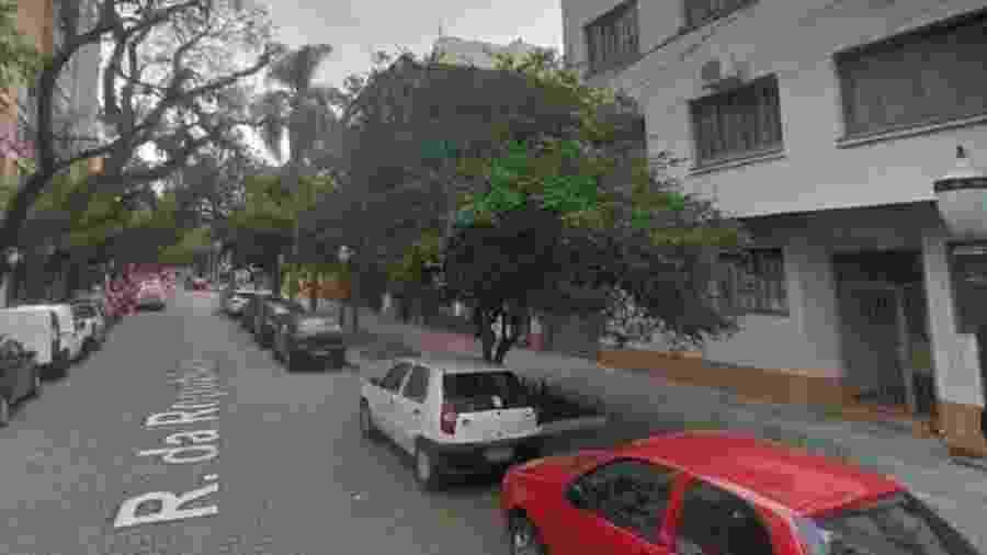 Imagem da Rua República (Porto Alegre) na altura de onde ocorreu o crime   - Reprodução/Google Maps