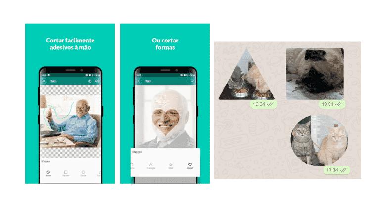 Sticker Studio: Stickers no WhatsApp - Reprodução - Reprodução