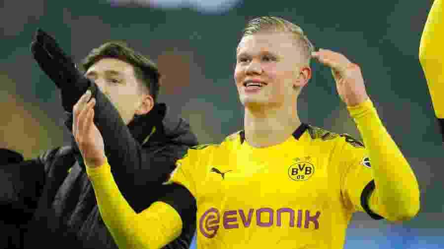 Borussia Dortmund, time de Haaland, terá duro desafio na retomada do Campeonato Alemão -