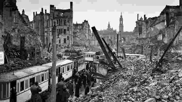 Segundo relatório americano, metade dos prédios residenciais foram destruídos na operação - Getty Images