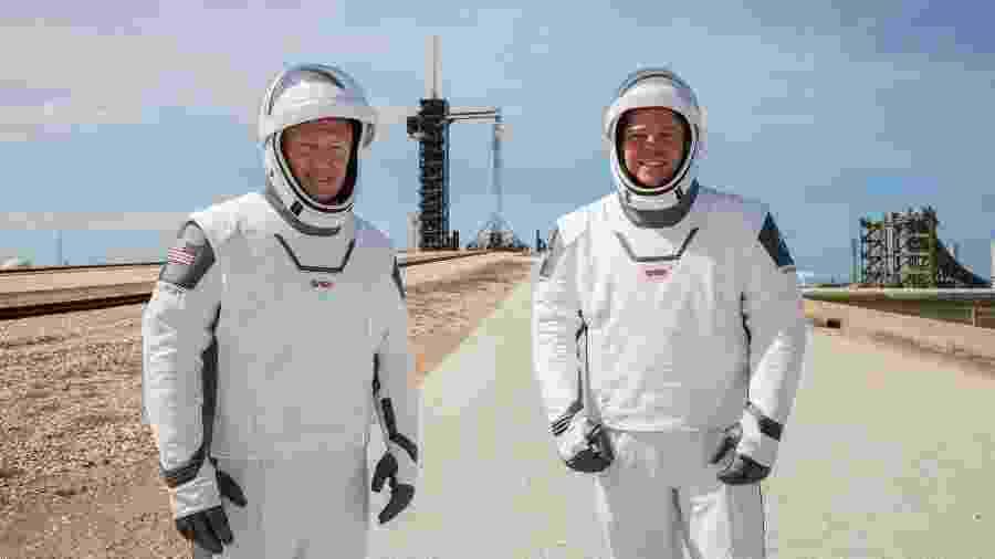 Astronautas Doug Hurley e Bob Behnken - NASA/Kim Shiflett