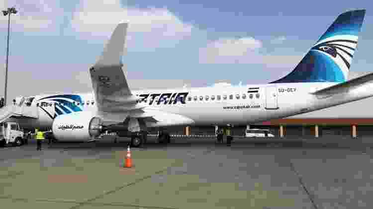 Egypt Air - Divulgação - Divulgação
