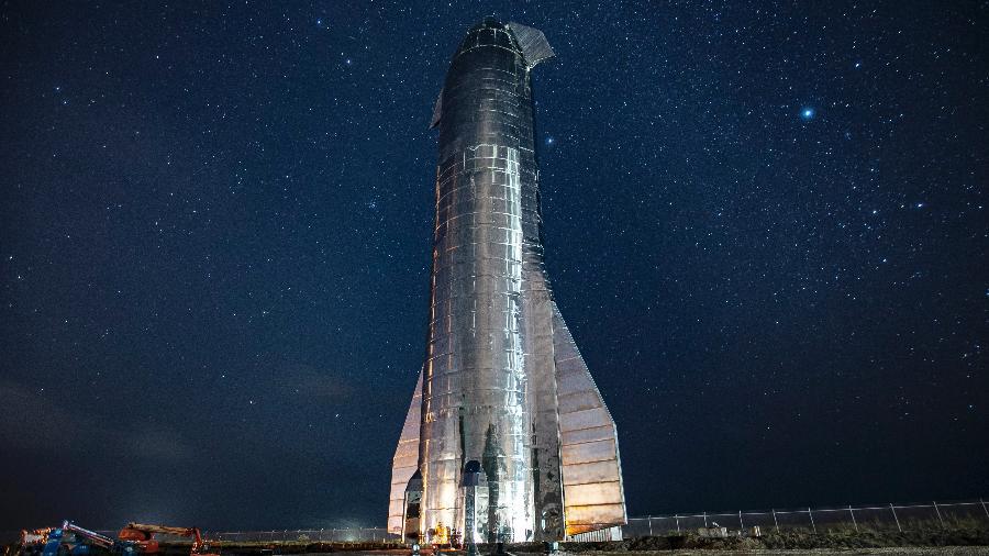 Modelo Starship foi projetado pensando em turismo especial - SpaceX/Divulgação