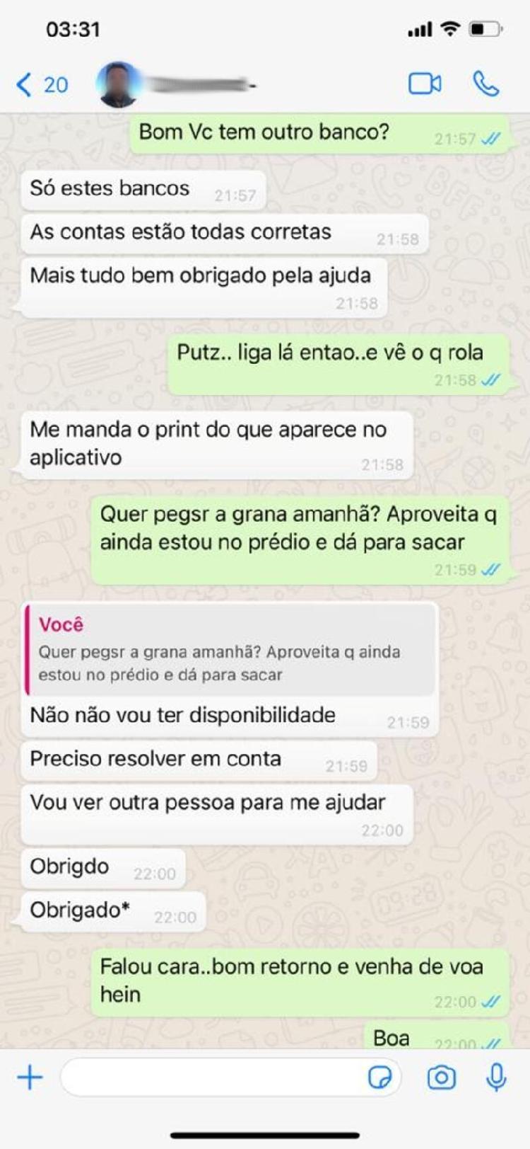 Golpe do WhatsApp (4) - Jogar / Todo golpe - Jogar / Todo golpe