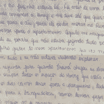 Carta de Monique com detalhes sobre problemas após mudança para apartamento de Jairinho - Reprodução/Arquivo Pessoal