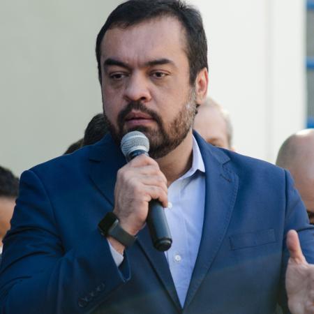 14.jun.2021 - O governador do Rio, Cláudio Castro (PL) - Wallace Silva/FotoArena/Estadão Conteúdo
