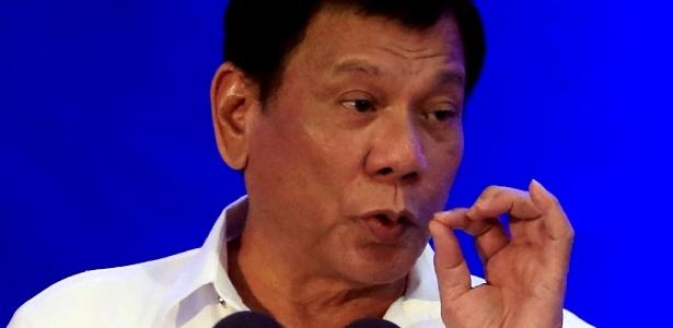 'Eles não têm nem ideia do que são direitos humanos', diz o presidente filipino