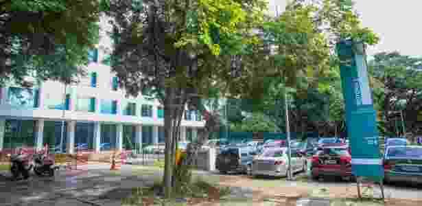 Fachada da reitoria da USP, no campus Butantã - Edson Lopes Jr/UOL