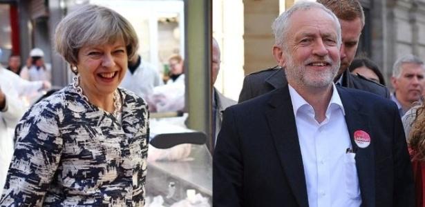 Pesquisas mostram imensa variação de intenções de voto nos dois principais partidos do Reino Unido