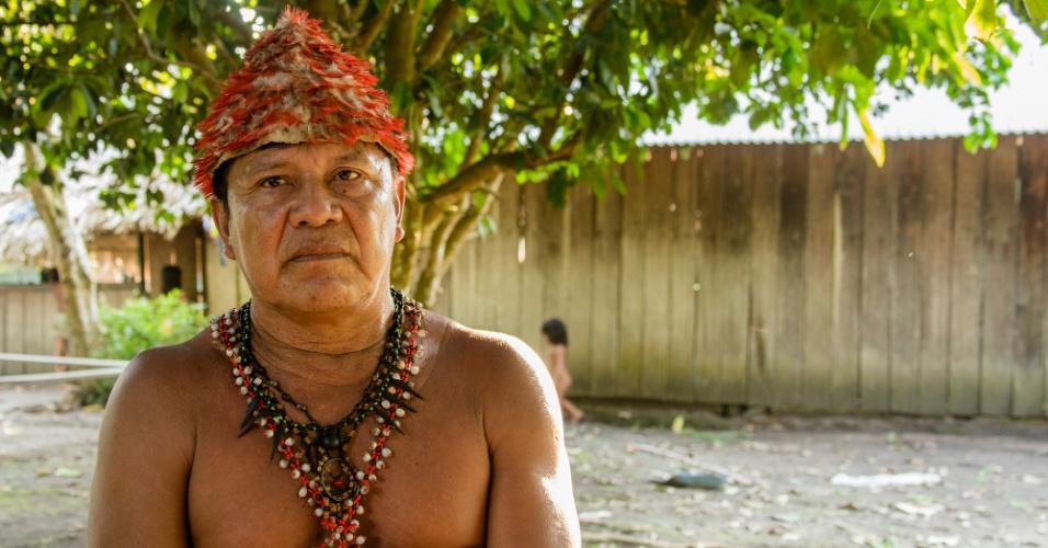O cacique Juarez Munduruku