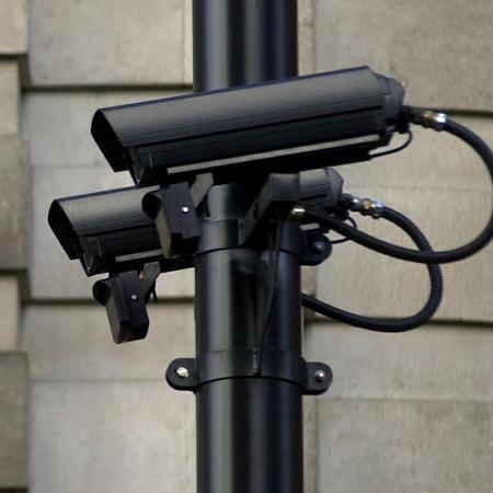 Câmera de segurança no centro de Londres - NICOLAS ASFOURI / AFP PHOTO