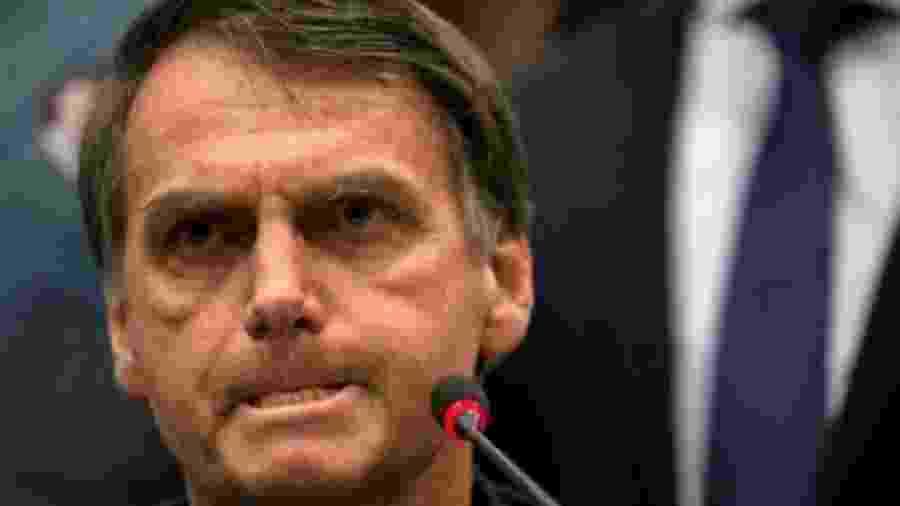 Jair Bolsonaro, atualmente sem partido - Mauro Pimentel/AFP
