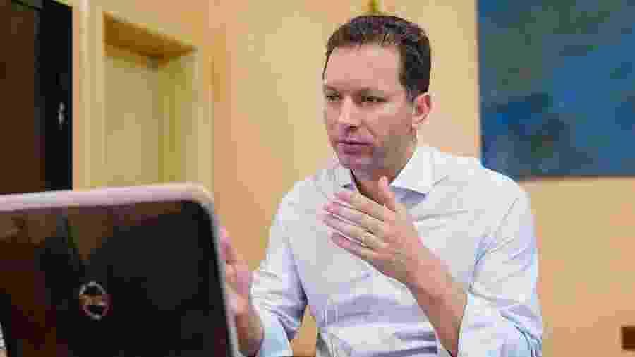 12.jun.2020 - O prefeito de Porto Alegre, Nelson Marchezan Junior (PSDB), anunciou medidas mais restritivas na pandemia do novo coronavírus - Cesar Lopes/PMPA