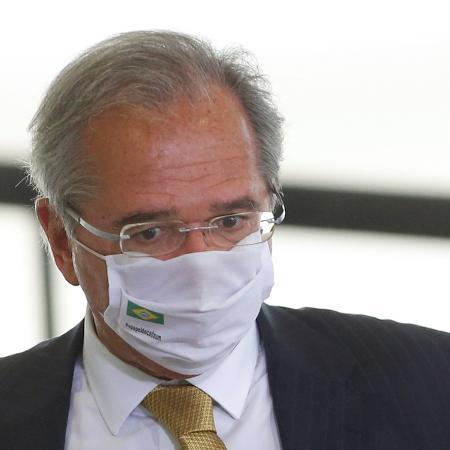 O ministro da Economia, Paulo Guedes, em Brasília -