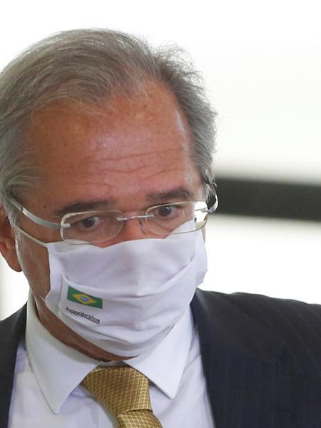 Ministro da Economia, Paulo Guedes, em Brasília -