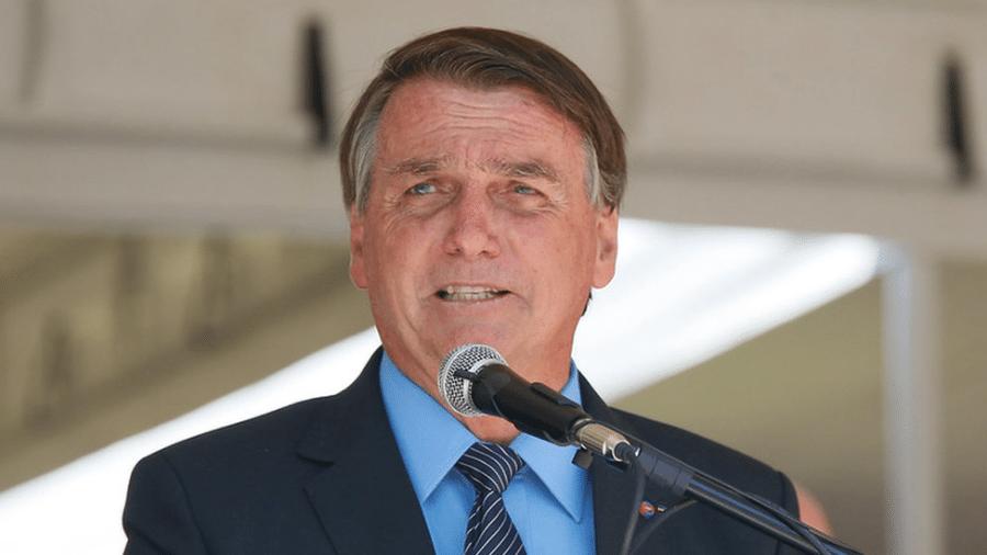 Na sexta-feira (19/02), Bolsonaro comunicou através das redes sociais a decisão de substituir o atual presidente da Petrobras, Roberto Castello Branco, pelo general Joaquim Silva e Luna, hoje presidente de Itaipu - Isac Nóbrega/PR