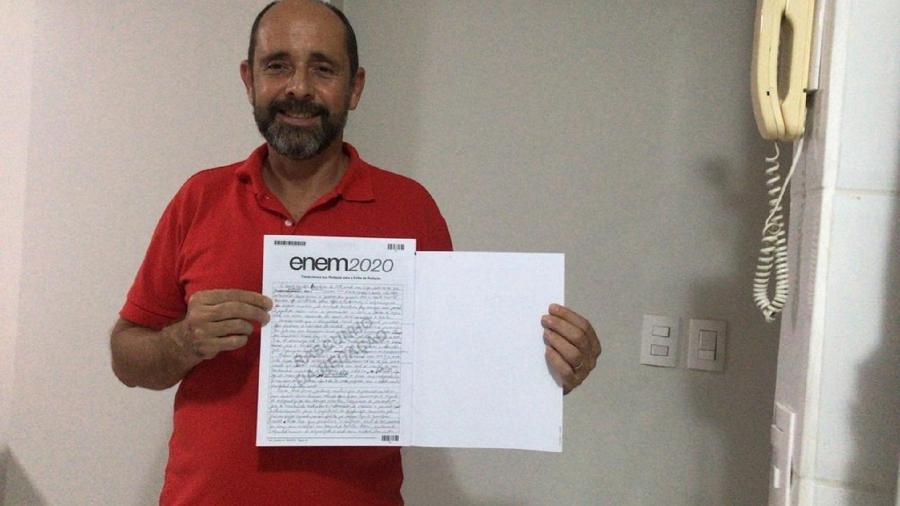 Alexandre Camilo da Silva tirou nota 920 na redação do ENEM - Arquivo pessoal