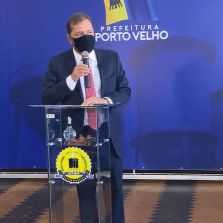 Prefeito Hildon Chaves diz que não há riscos financeiros após acordo por vacinas com empresa investigada por fraude - Reprodução