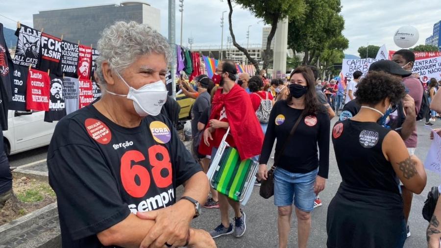 Chico Alencar (PSOL), vereador do Rio e ex-deputado federal - Herculano Barreto Filho/UOL
