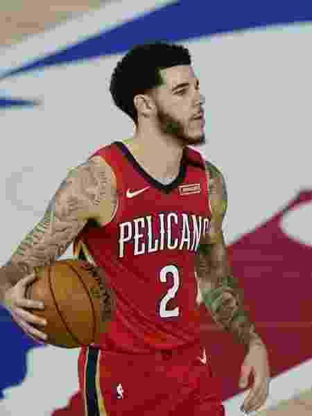 Lonzo Ball (New Orleans Pelicans) - Reprodução/Twitter - Reprodução/Twitter