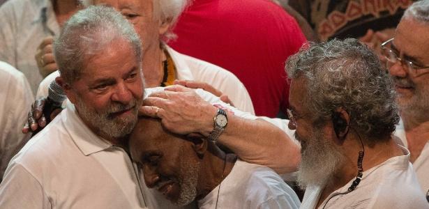 Lula participa de evento no Rio na noite de segunda (11)