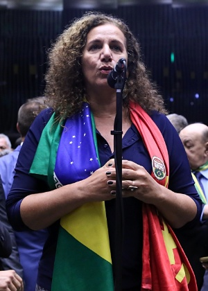 Jandira Feghali (PCdoB) é pré-candidata à Prefeitura do Rio de Janeiro