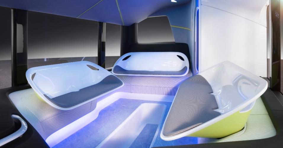 ônibus do futuro da Mercedes-Benz