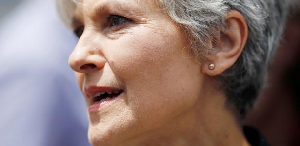 Jill Stein, candidata do Partido Verde às eleições presidenciais dos EUA em 2016