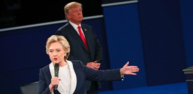 Hillary e Trump participam do segundo debate das eleições norte-americanas