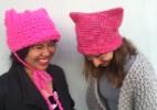 Roupas viram parte do protesto contra Trump na Marcha das Mulheres em Washington - Kat Coyle via The New York Time
