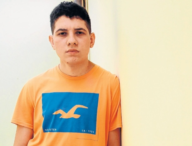 José Humberto Pires de Campos Filho, 22, foi diagnosticado com doença renal crônica, já recusou transplantes duas vezes e tem de submeter-se à hemodiálise