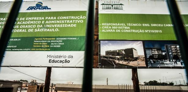 19.mai.2017 - Terreno em Osasco (SP) destinado à construção de campus da Unifesp