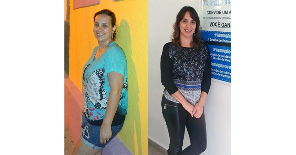 Rosemeire Alves, 46, que fez um tratamento estético e perdeu dez quilos, resolveu abrir um negócio na área