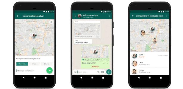 Novo recurso do WhatsApp pode dar mais segurança em trajetos - Divulgação