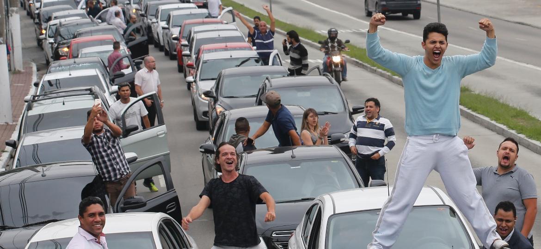Organizar ato sem autorização com veículos que bloqueiem o trânsito é infração gravíssima com multa multiplicada por 60, chegando a R$ 17.608,20 - Leonardo Benassato/Estadão Conteúdo
