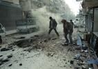 Rússia rejeita proposta da ONU por um cessar fogo no noroeste da Síria - Hamza al-Ajweh/AFP