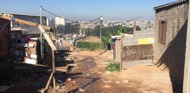 Entregador de pizzas Geovane dos Santos, de 18 anos, foi morto em uma rua da favela Etelvina, na zona leste de SP - BBC