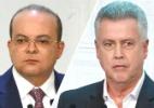 Boca de urna DF: Ibaneis (MDB) tem 69% e Rollemberg (PSB), 31%, diz Ibope - Arte/UOL