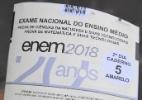 MEC anula questão de matemática do Enem 2018 por ser repetida (Foto: Ronaldo Silva/Futura Press/Estadão Conteúdo)